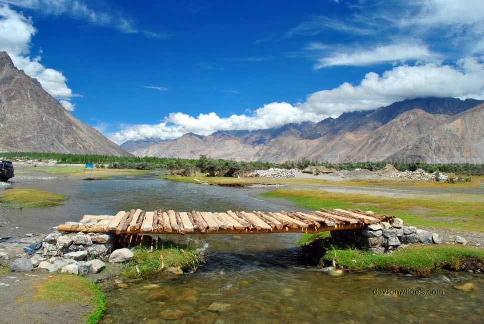 Heavenly views of Hunder in Ladakh