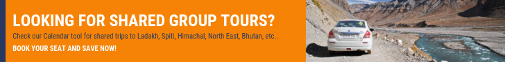 Shared Group Tours of Ladakh & Spiti Valley