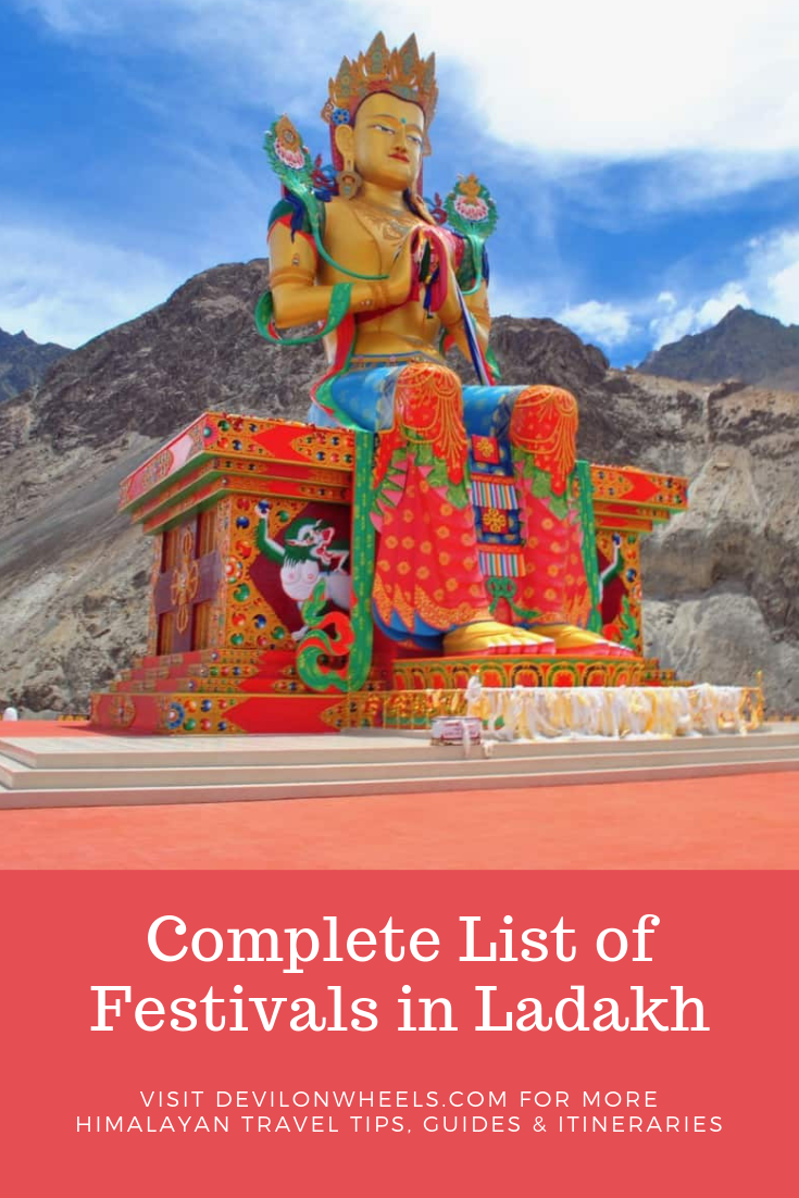 Complete List of Festivals in Ladakh