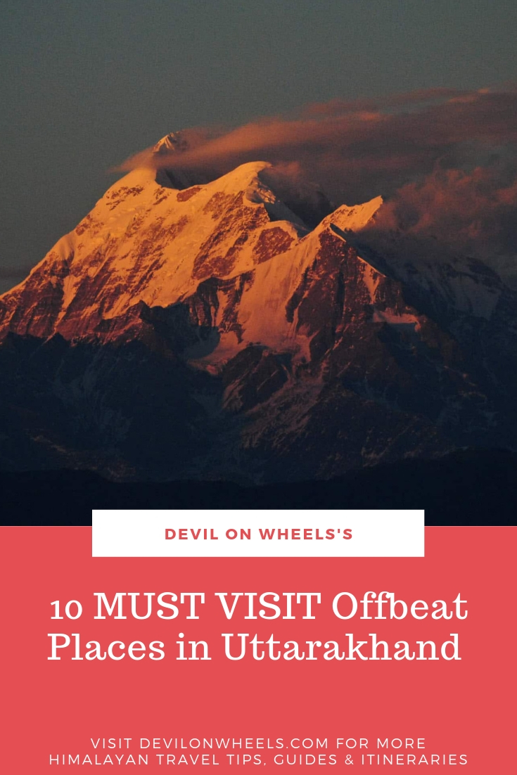 10 MUST VISIT Offbeat Places in Uttarakhand