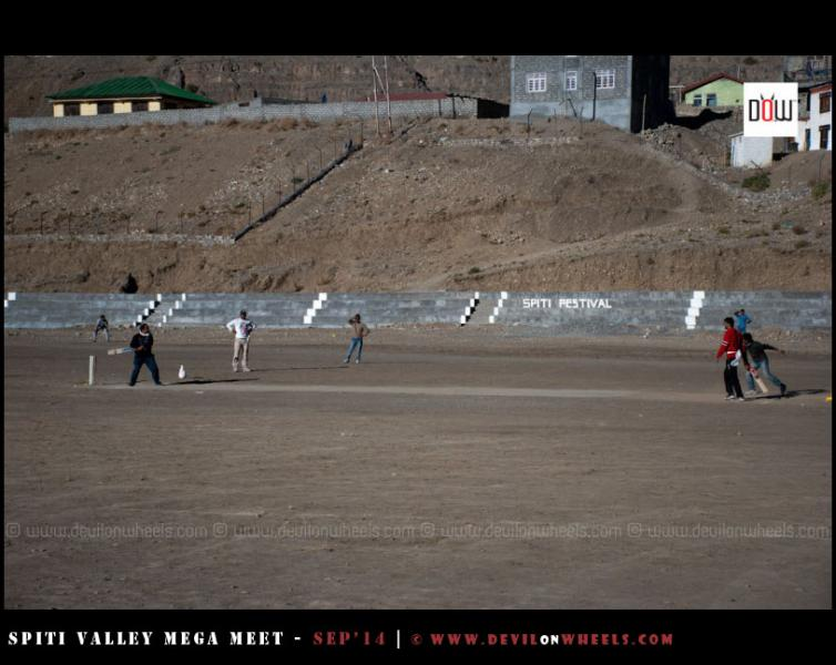 Moments from DoW Circket Cup in Kaza - Spiti Valley