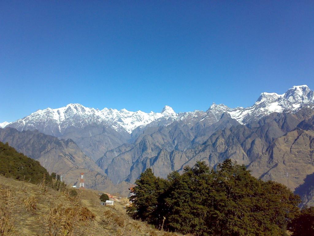 Views from Auli near Joshimath