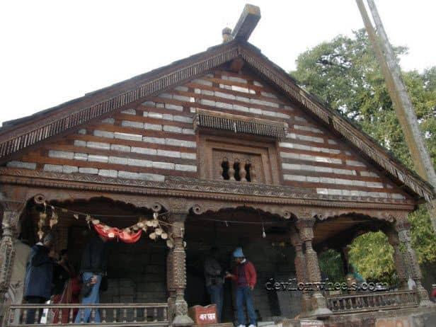 Gayatri temple at Jagatsukh