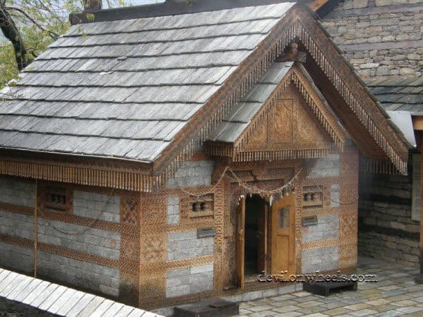 A small temple at Naggar Castle