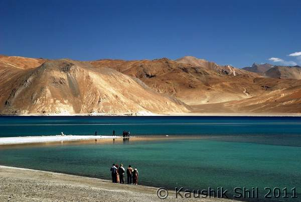 Pangong Tso Lake in Ladakh