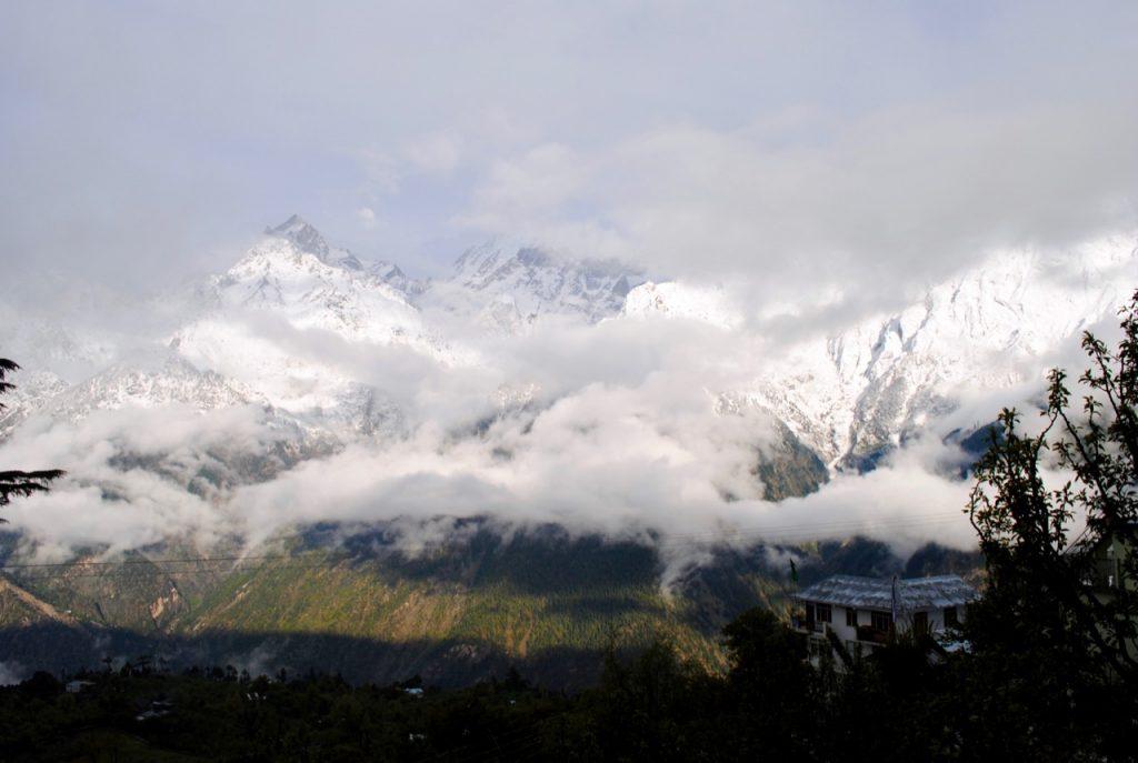Clouds floating in Kalpa - Kinnaur Valley