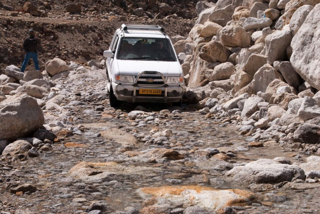 Spiti Valley from Manali - Road Conditions
