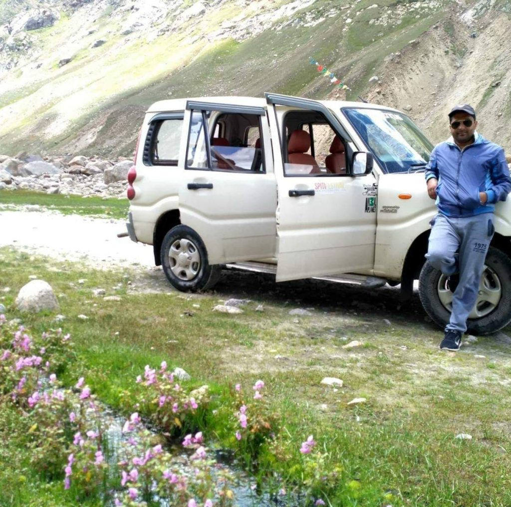 Dilip Local Driver Spiti - Kinnaur