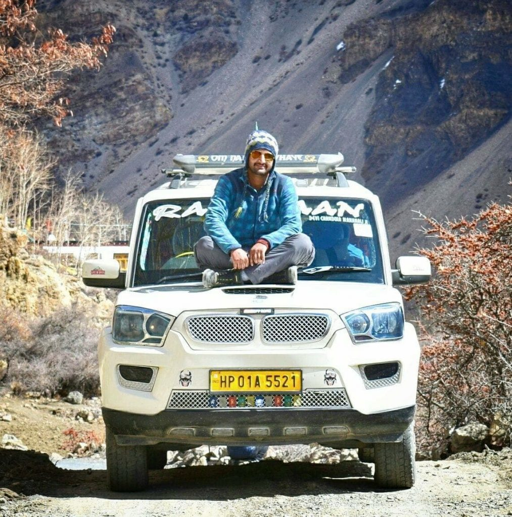 Arvind - Local Driver Spiti - Kinnaur