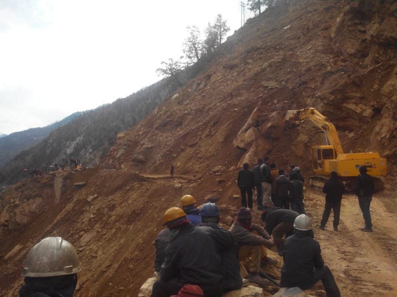 Road Conditions in Kinnaur and Spiti Valley