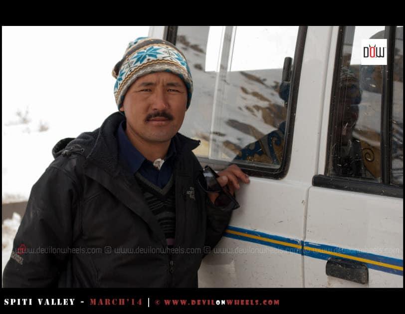 Chewang Local Driver Spiti - Kinnaur