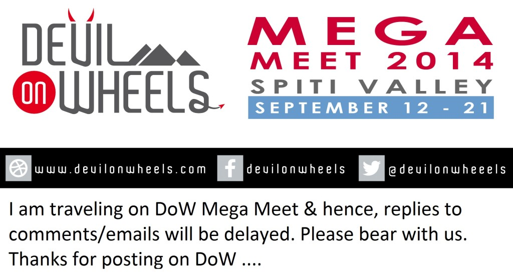 DoW Mega Meet 2014 - Spiti Valley