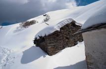 Snow Trek to Tungnath
