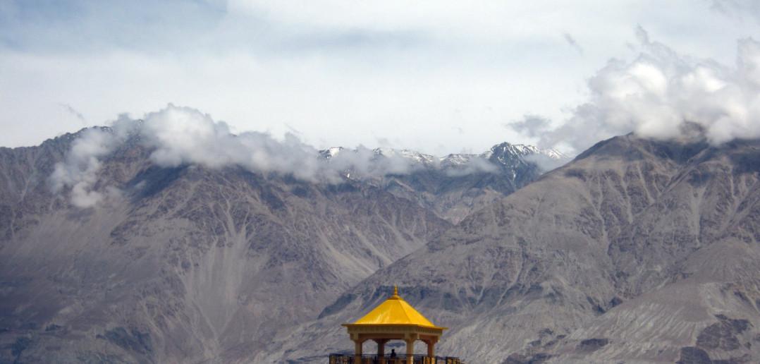 Nubra Valley - Monastery at Diskit