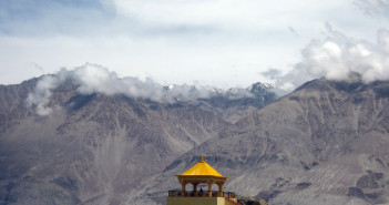 Nubra Valley - Monastery at Diskit