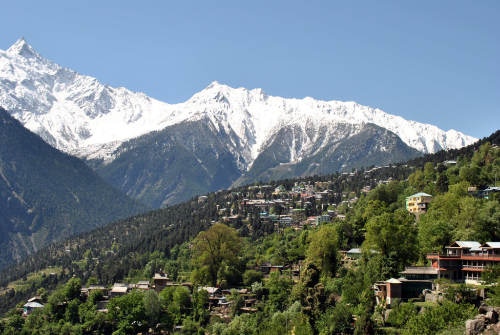 Beautiful view of Kalpa Himachal Pradesh