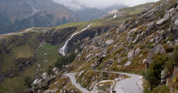 Beautiful roads in Manali