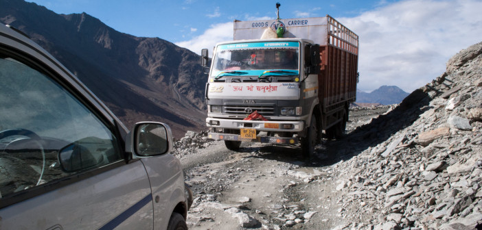 Manali-Leh Highway Closed for 2011