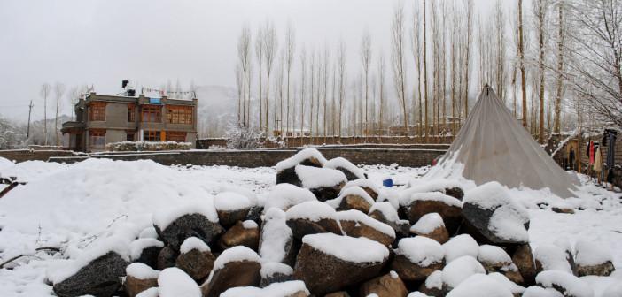 Heaviest Snowfall in Himachal Pradesh of Winters 2012