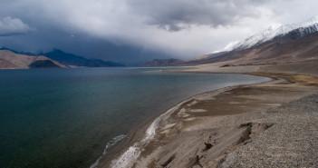 Blue Hues of Pangong Tso   Ladakh – 2012