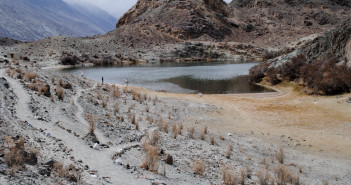 Sacred Yarab Tso Lake at Panamik – Nubra Valley | Ladakh – 2012