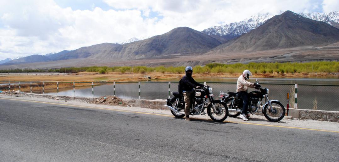 My Maiden Bike Ride – Sham Valley | Ladakh – 2012