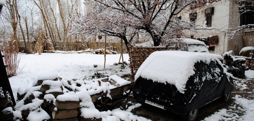 A Snow Whiteout in Leh – Trapped Again   Ladakh – 2012