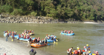 4 Ways of Adventure Bathing in Rishikesh – 2