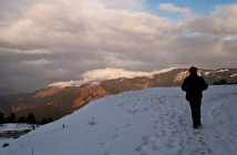Prashar Lake, A Winter Snow Trek