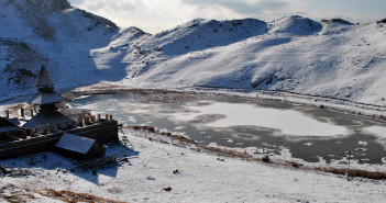 Prashar Lake – A Jewel Midst White Gold We Call Snow