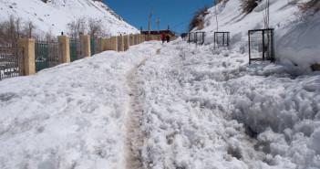 Freezing Key Monastery – Snow White Spiti