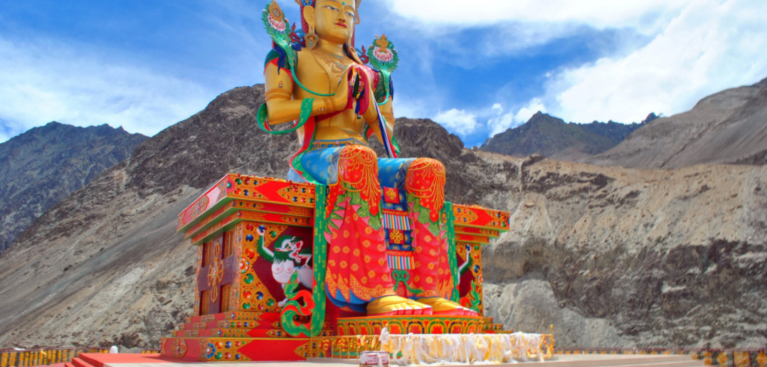 Ladakh Journey | Colors of Diskit Monastery, Nubra Valley