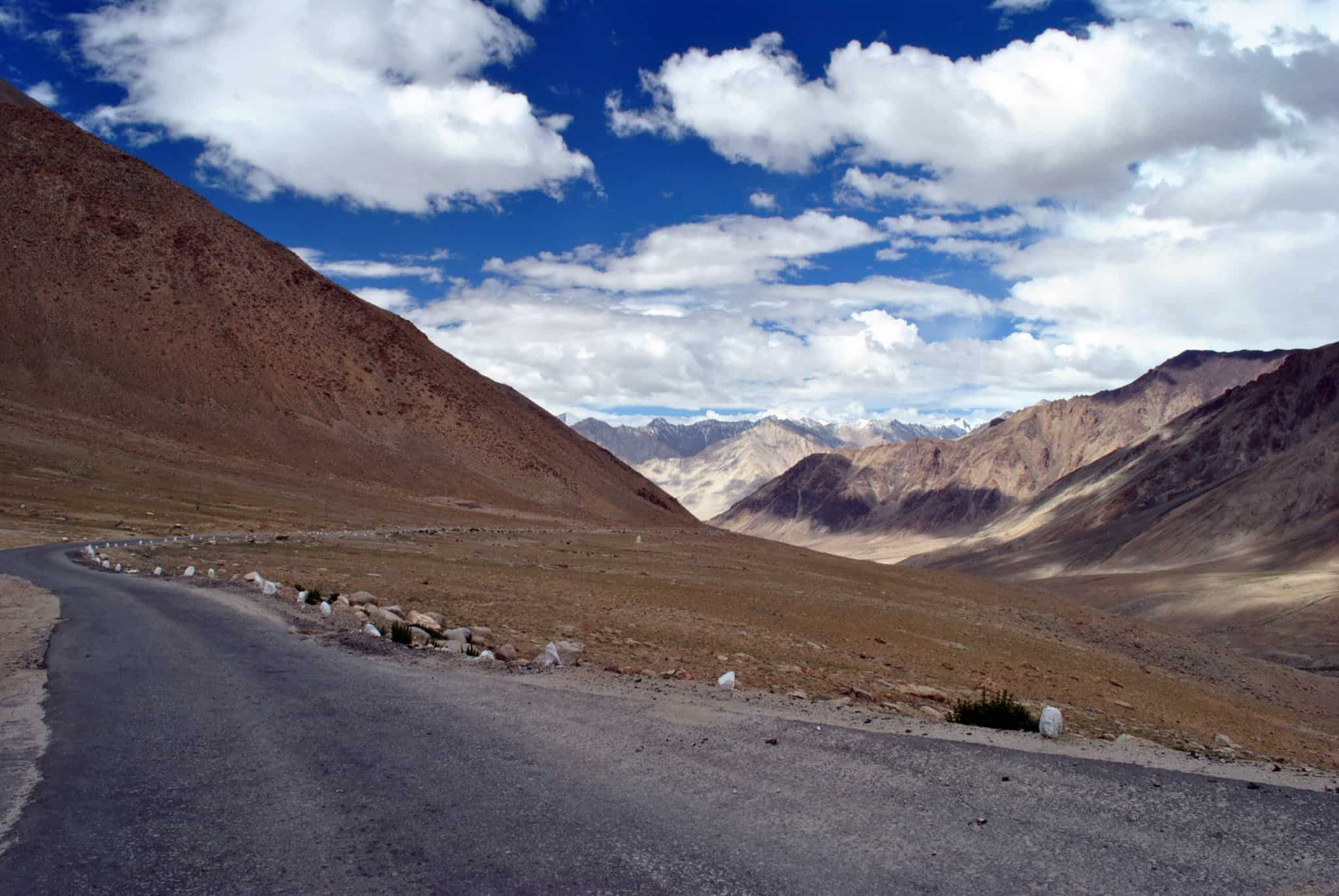 As you descend into Nubra Valley from Leh