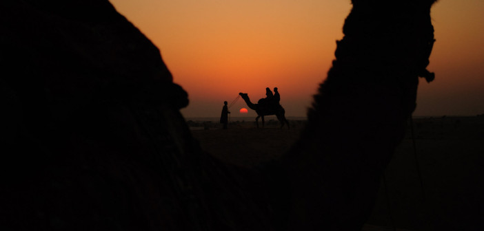 Royale Rajasthan | Stunning Sunset over Sand Dunes in Jaiselmer