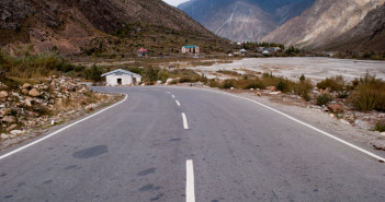 Beautiful Roads at Jispa