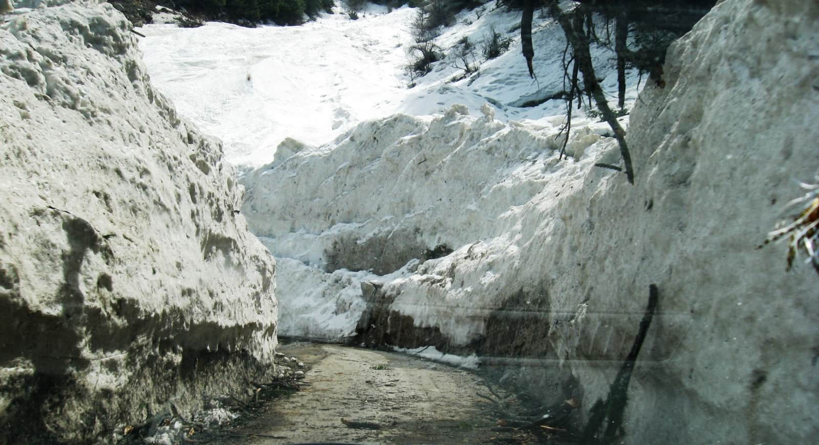 Snow at Harsil (Sukhi Top) - Dharali, a place to enjoy Snowfall in Uttarakhand