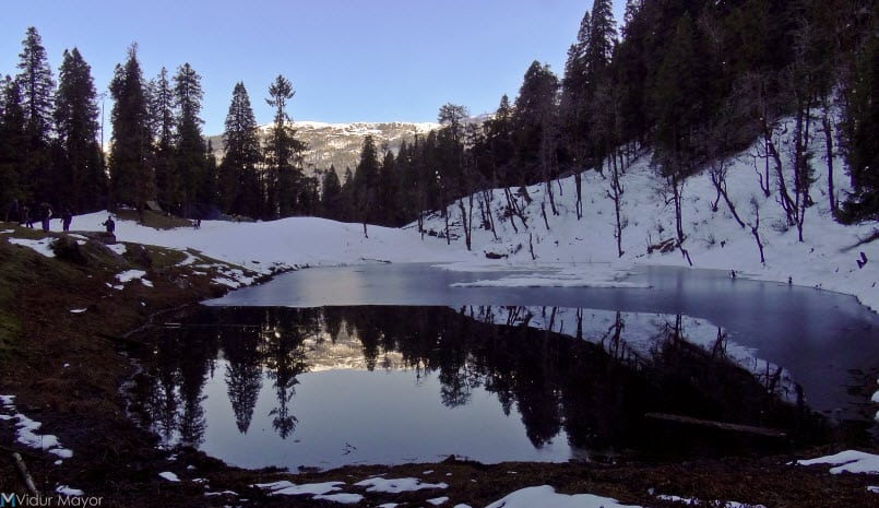 Juda Lake - Kedarkantha Peak, a place to enjoy Snowfall in Uttarakhand