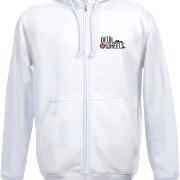 DoW Embroidered Hoodie White