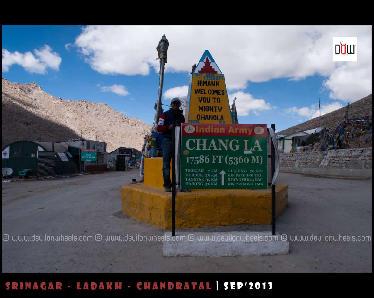 Chang La - Top 13 Highest Motorable Passes or Roads in the world