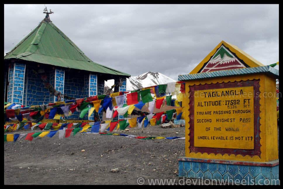 Taglang La or Tanglang La - Top 13 Highest Motorable Passes or Roads in the world