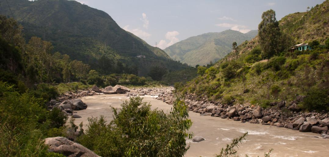 Sutlej River - On the way to Kalpa