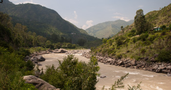Sutlej River - On the way to Kalpa