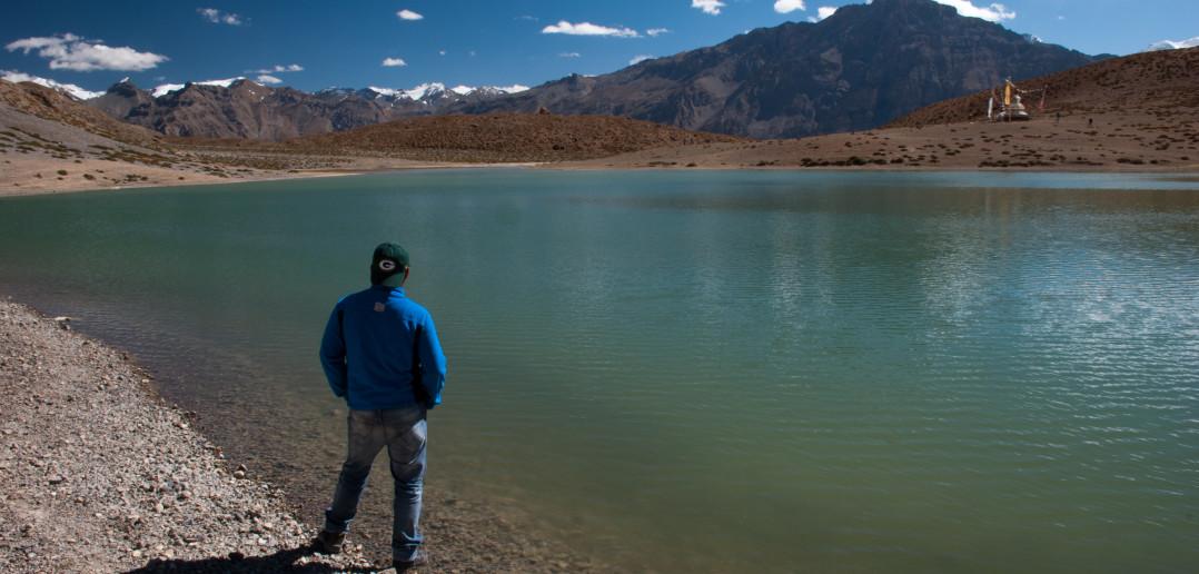 Lost in Dhangkar Lake