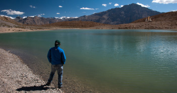 Lost in Dhangkar Lake