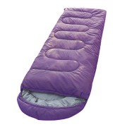 ALL-SEASONS-Good-Quality-Waterproof-Adult-Sleeping-Bag-for-Camping-Hiking-and-Adventure-Trips-Size-Adult-220-x-70-cm-Color-Purple-Green-0