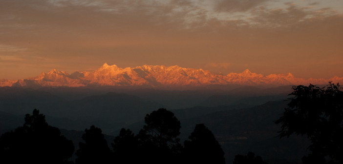 A sunset at Manila - Kumaon