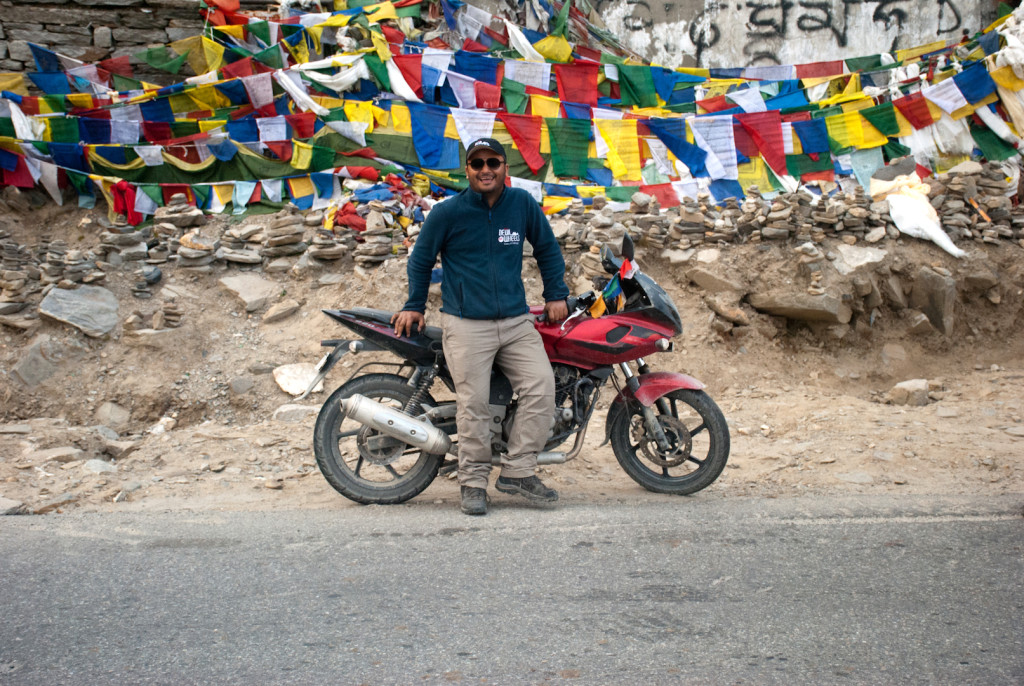 Smiles on Manali Leh Highway