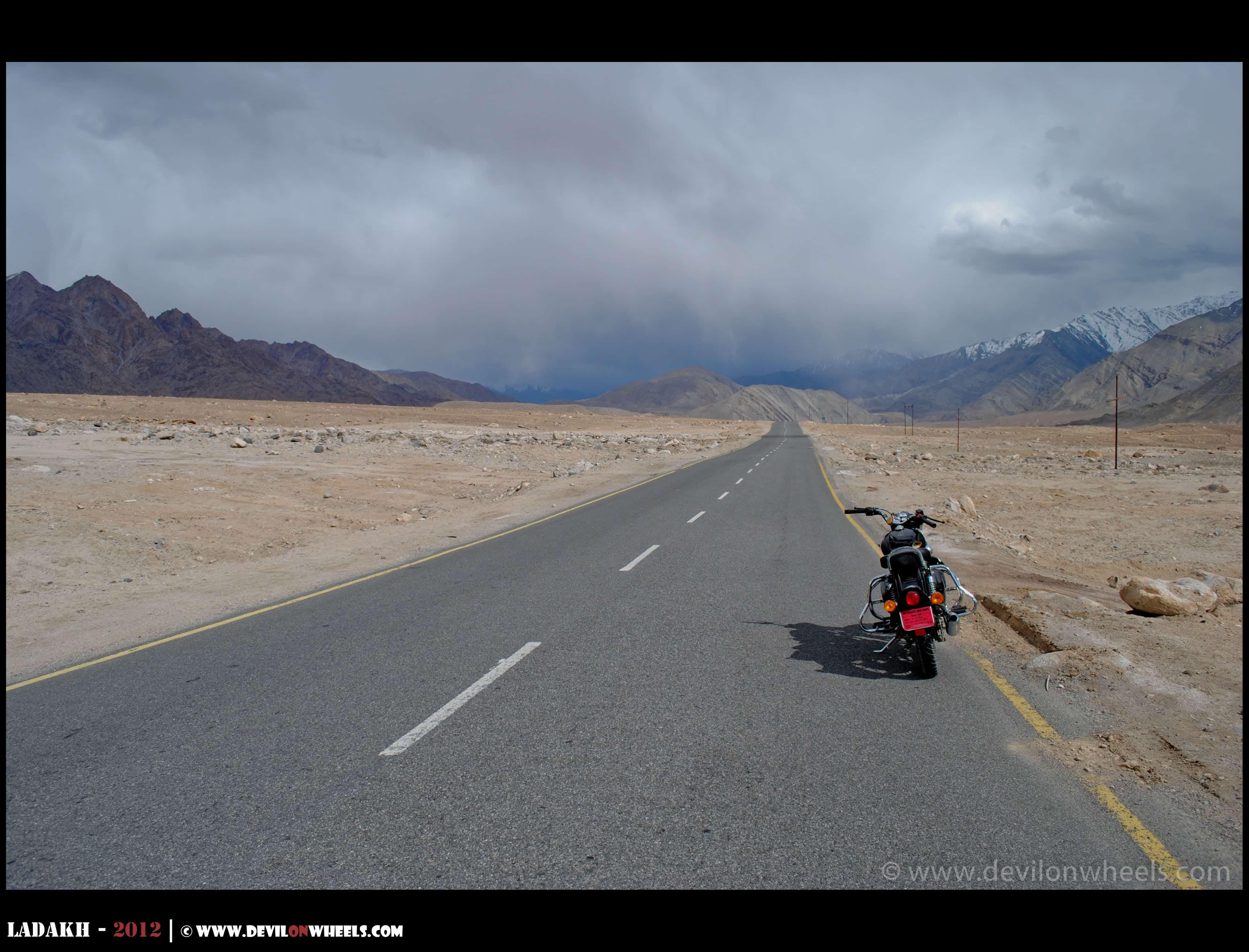 A trip to Ladakh on bike