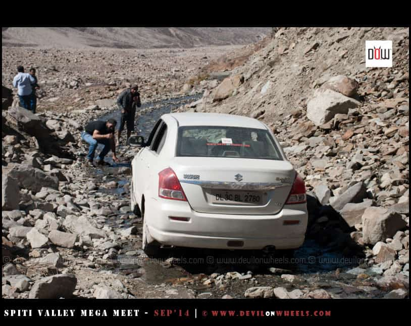 The challenges of taking small car to Ladakh