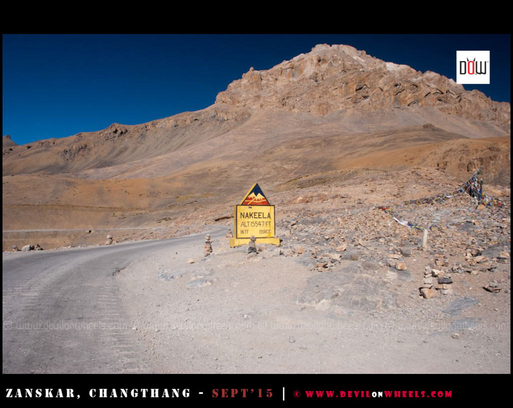 Nakee La at Manali - Leh Highway